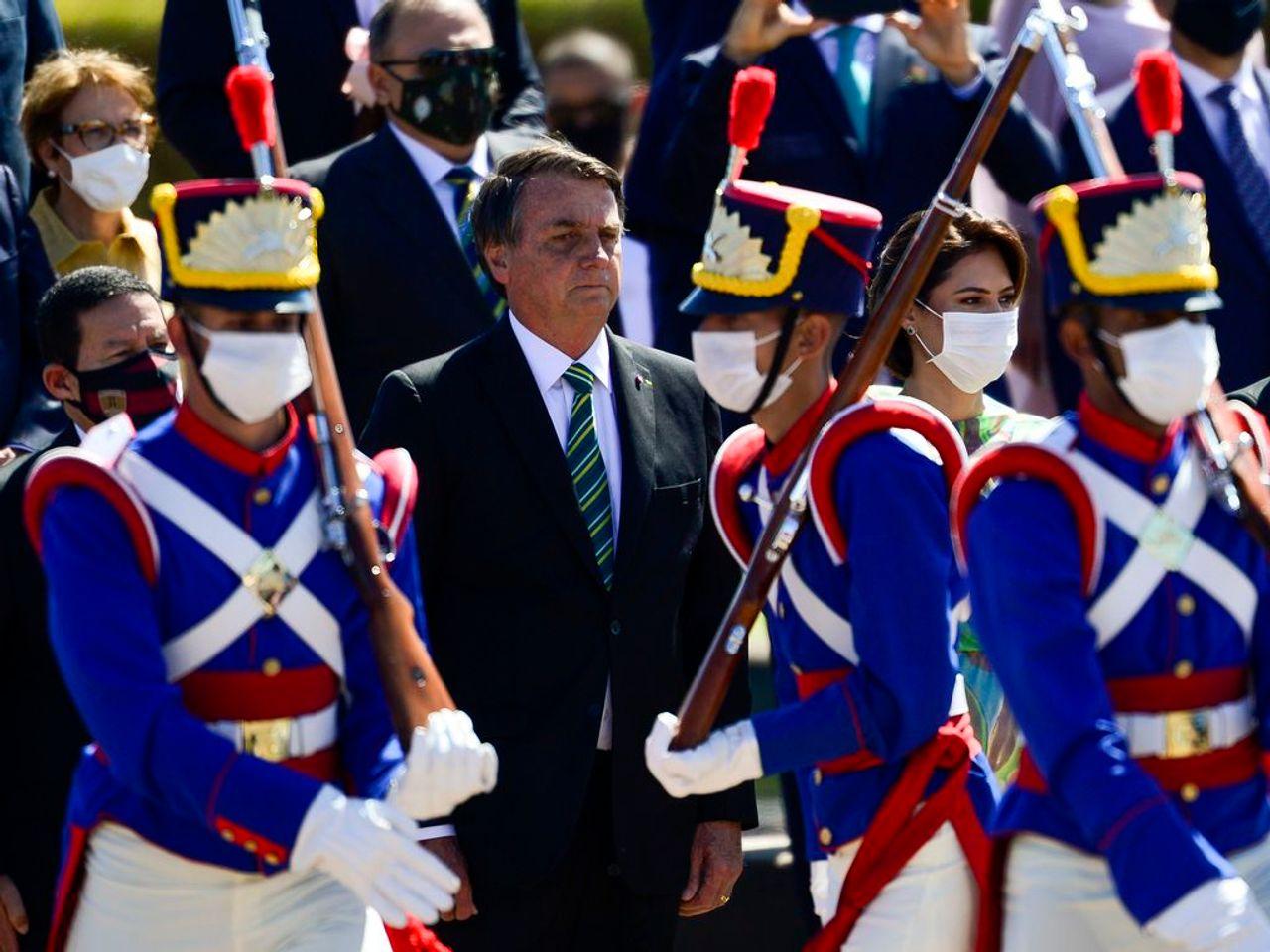 "Dozens subpoenaed under Brazil's ""national security"" law for calling Bolsonaro ""genocidal"""