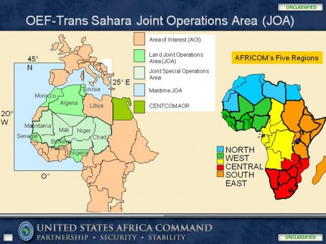 USNATO War Games Prepare Massive Military Escalation In West - Map of us and africa