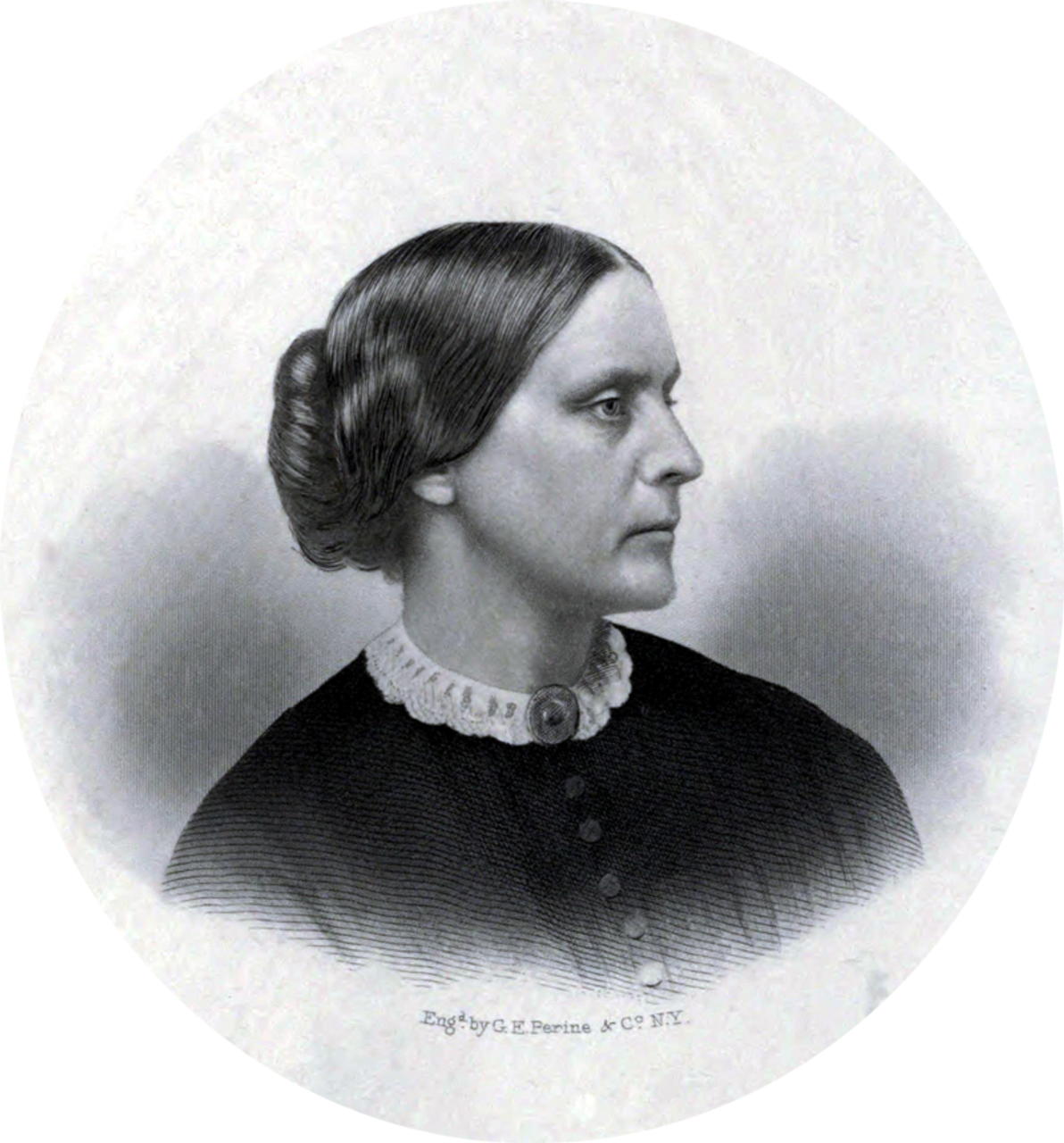 Susan B. Anthony, c.1855