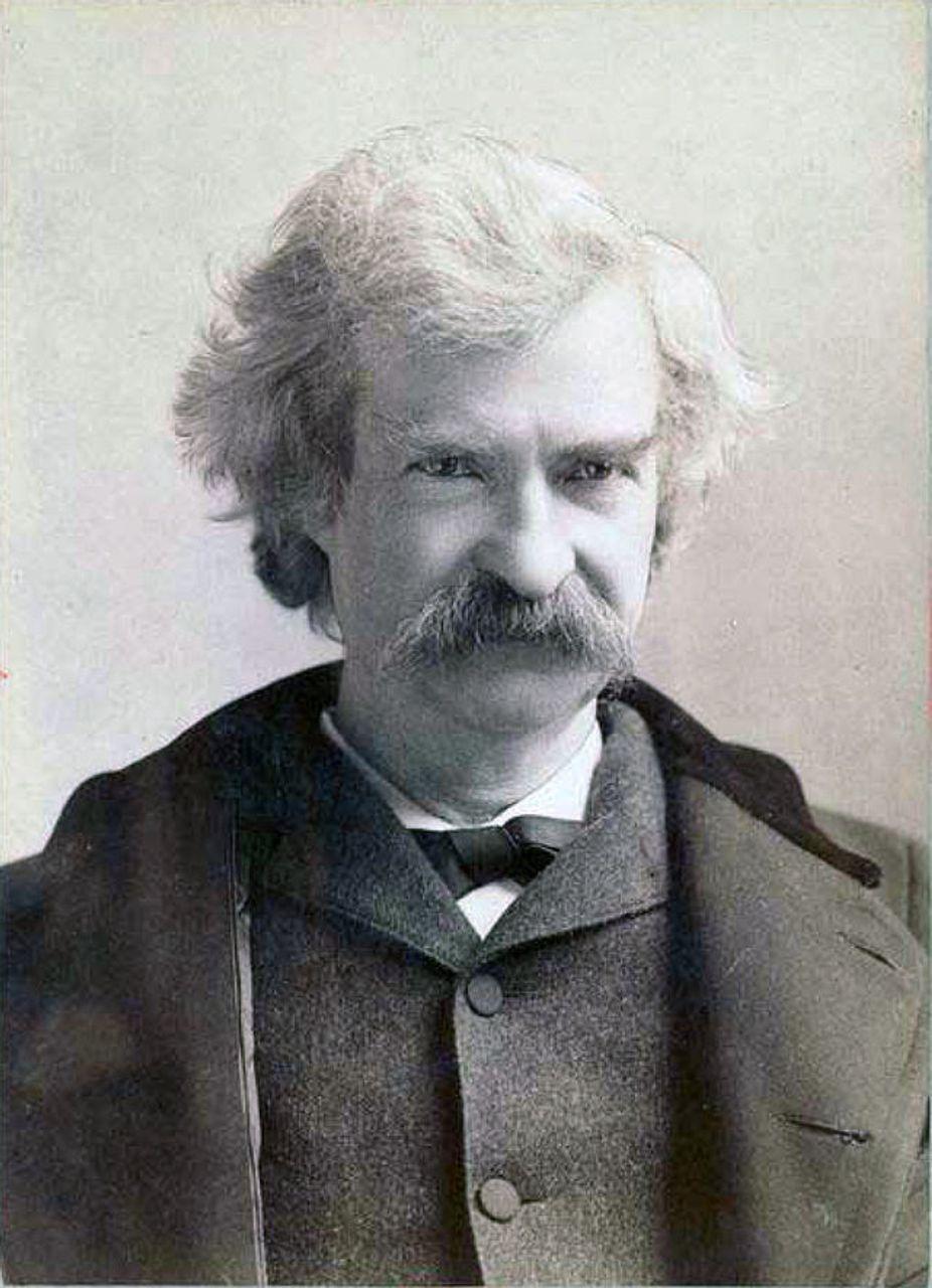Mark Twain in 1895