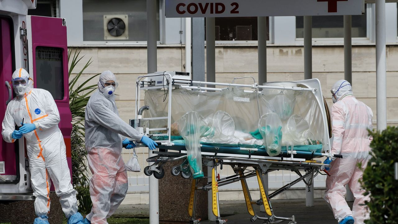 Italy virus death toll reaches over 8,100