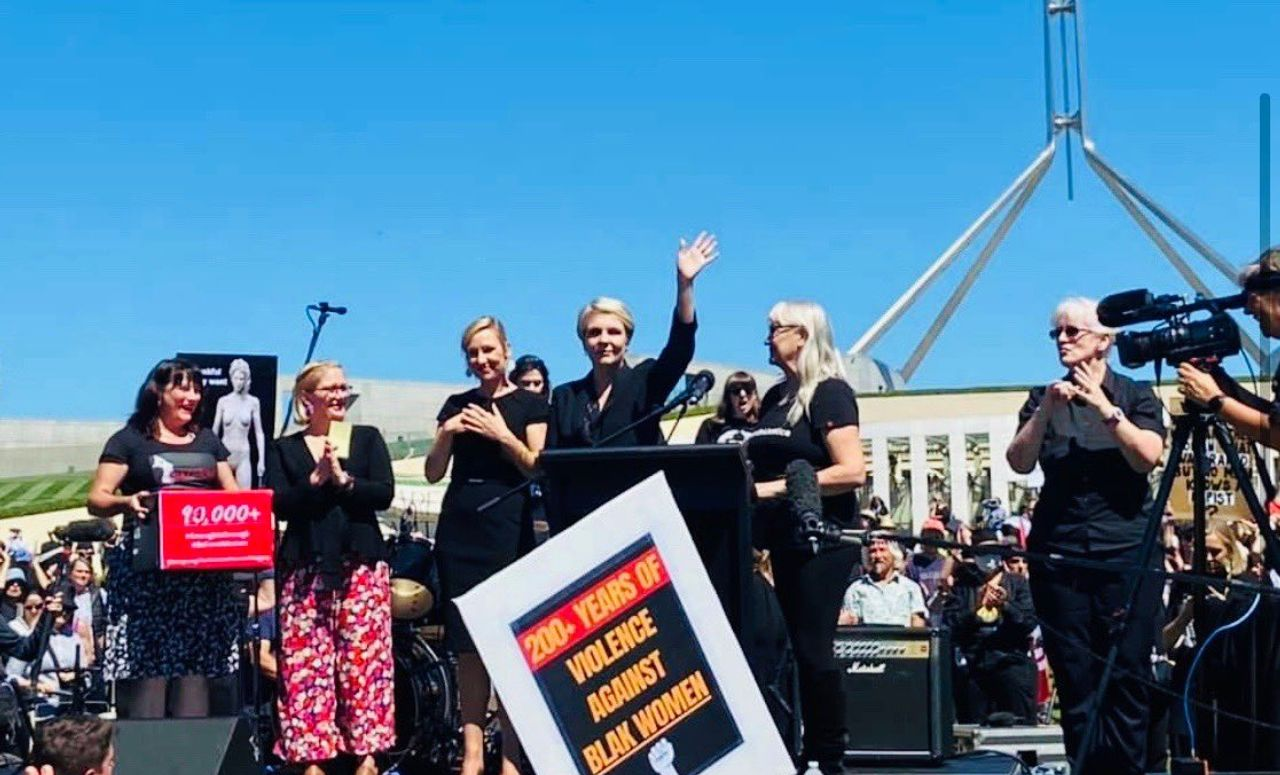 Right-wing feminist marches in Australia promoted to bury the class issues
