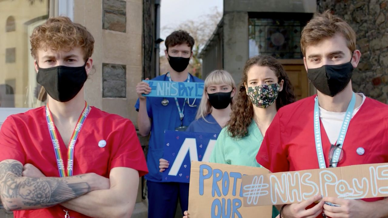 Petition for 15 percent NHS pay rise gains more than 638,000 signatures