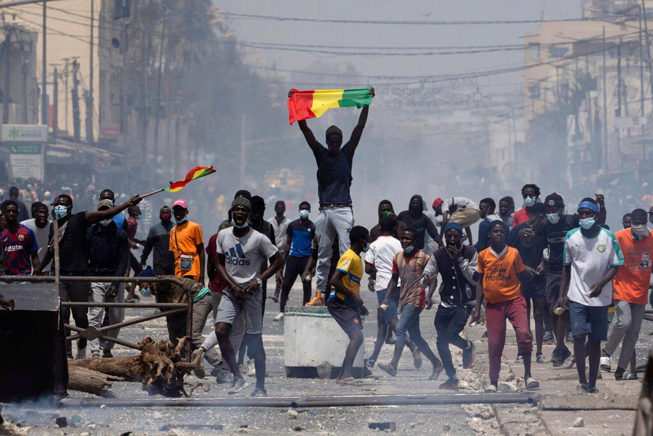 Clashes break out in Senegal after arrest of opposition leader Ousmane Sonko