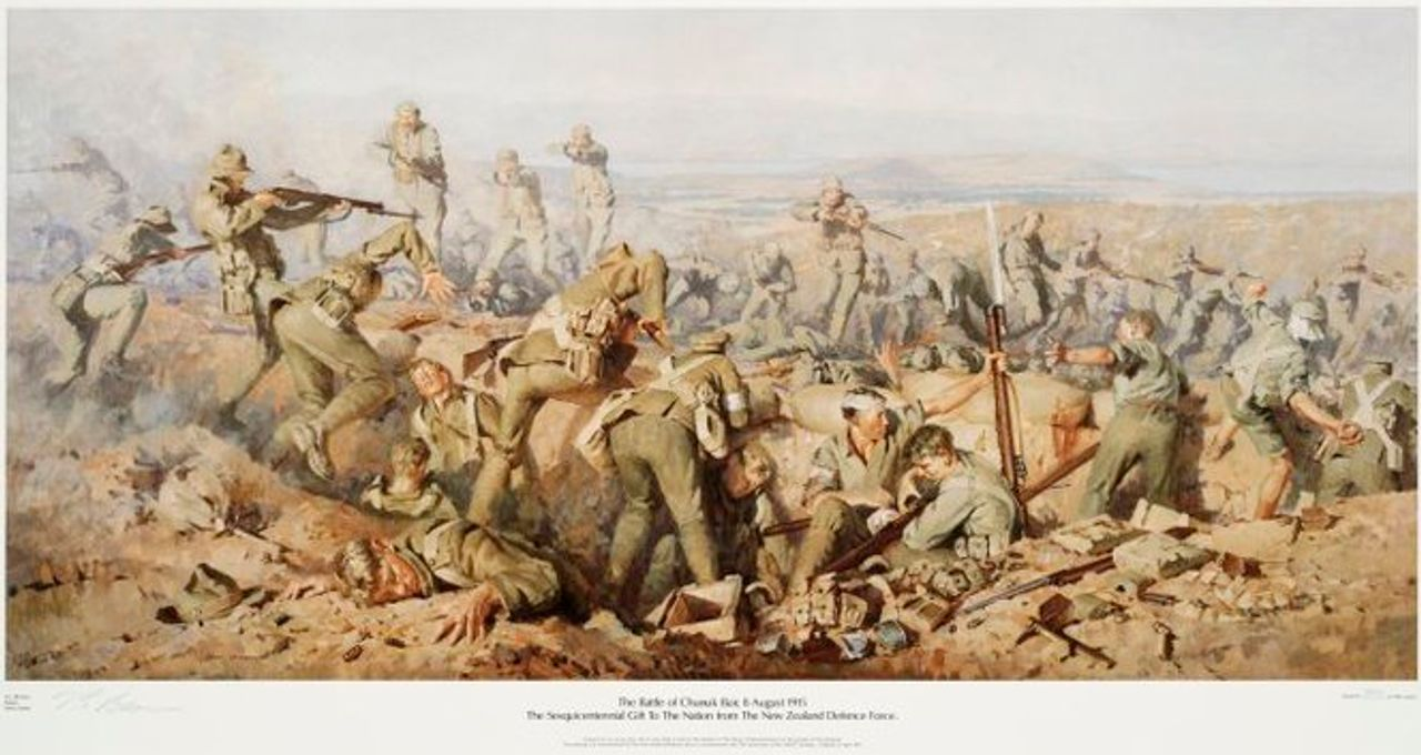 The battle of Chunuk Bair