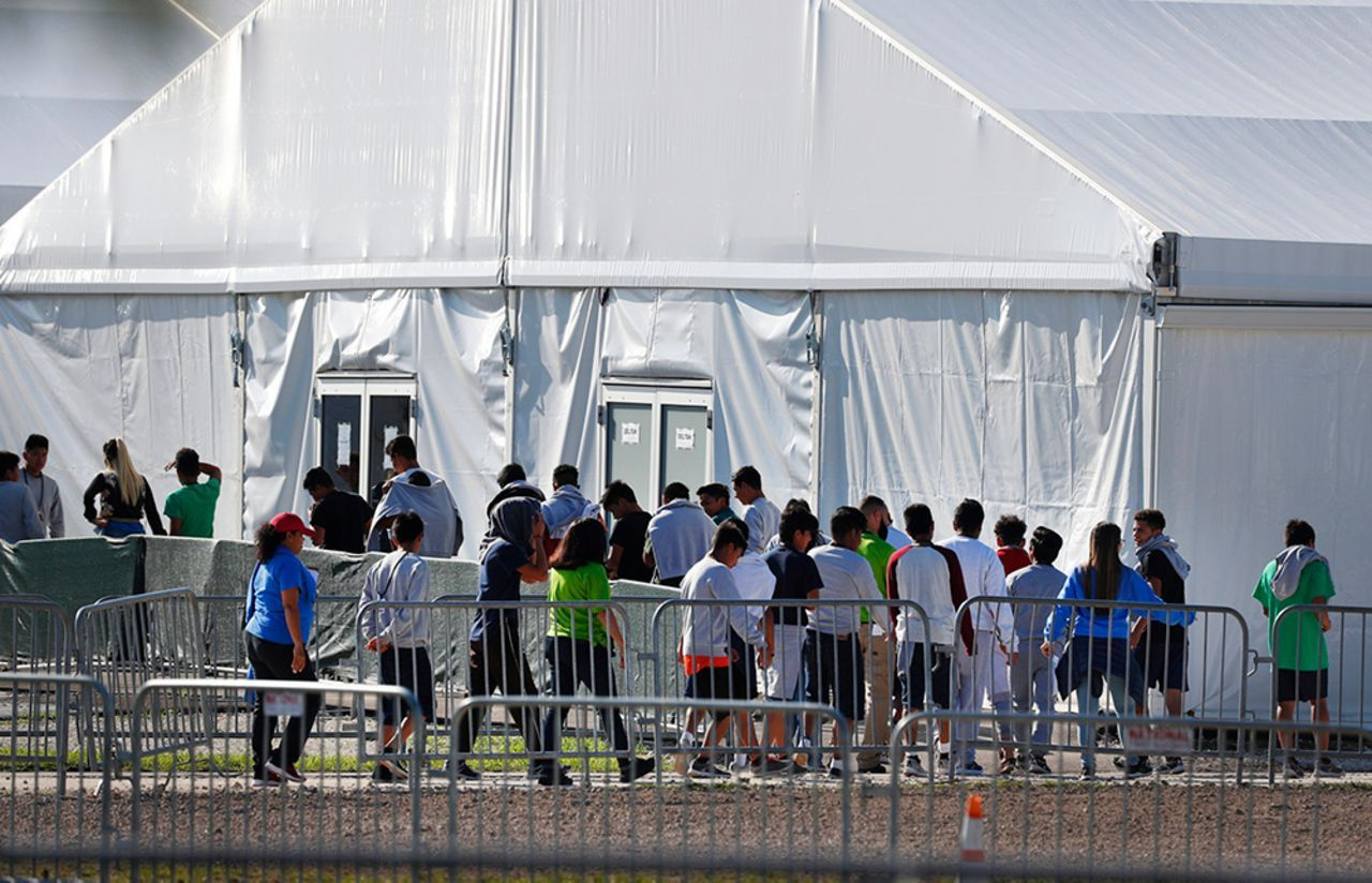 Biden administration continues to jail record number of immigrant children