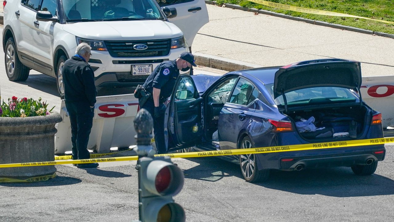Capitol police officer, driver killed in vehicle attack near US Capitol
