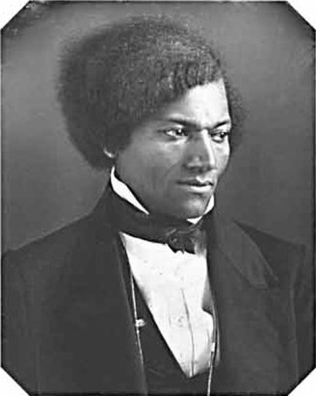 Frederick Douglass, c.1840s, in his 20s