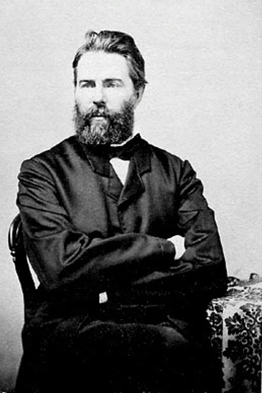 Herman Melville, 1860