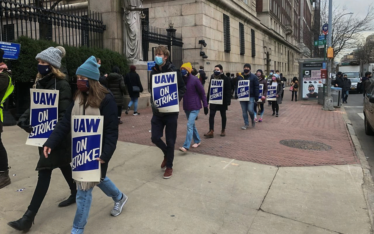 UAW seeks to isolate Columbia and New York University graduate student struggles