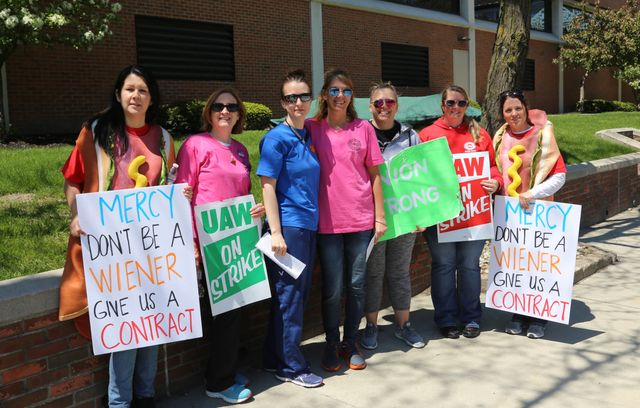 Mercy Health workers continue strike as management digs in - World