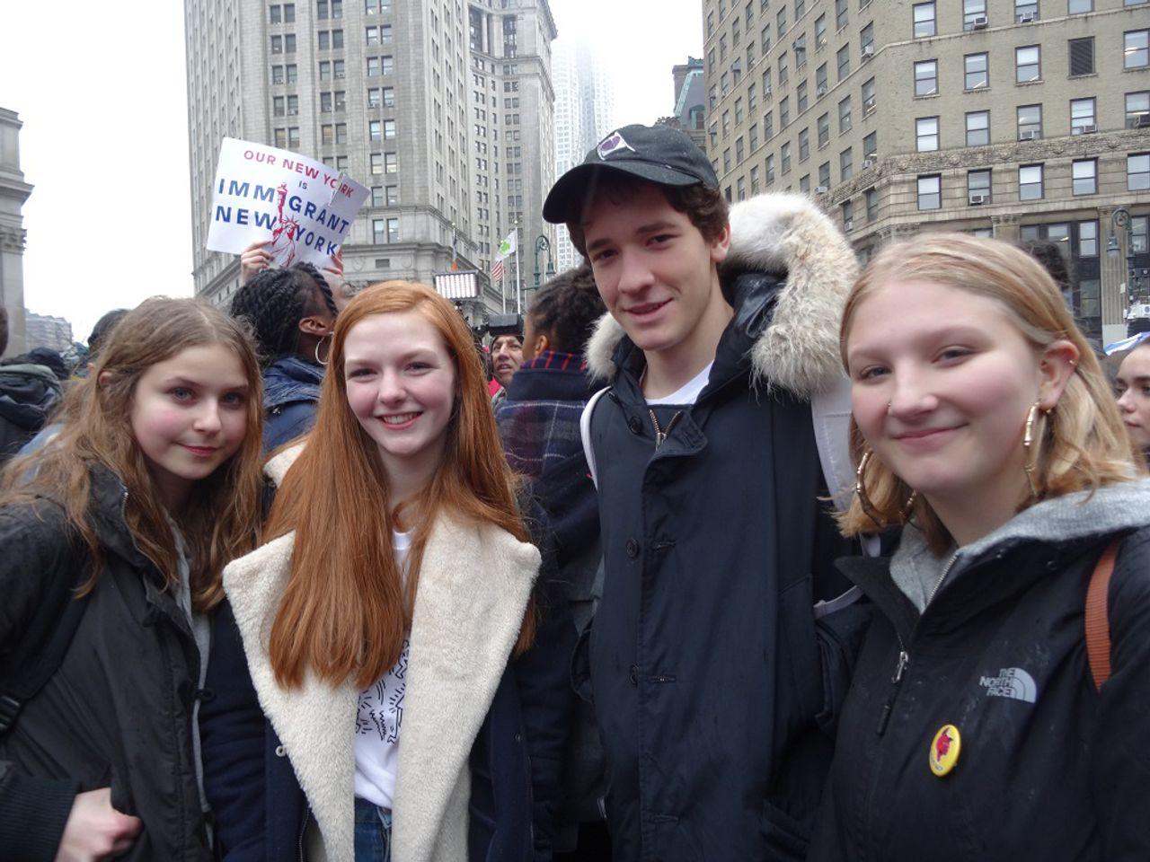 Lucca, Eibhilin, Ben and Phoebe