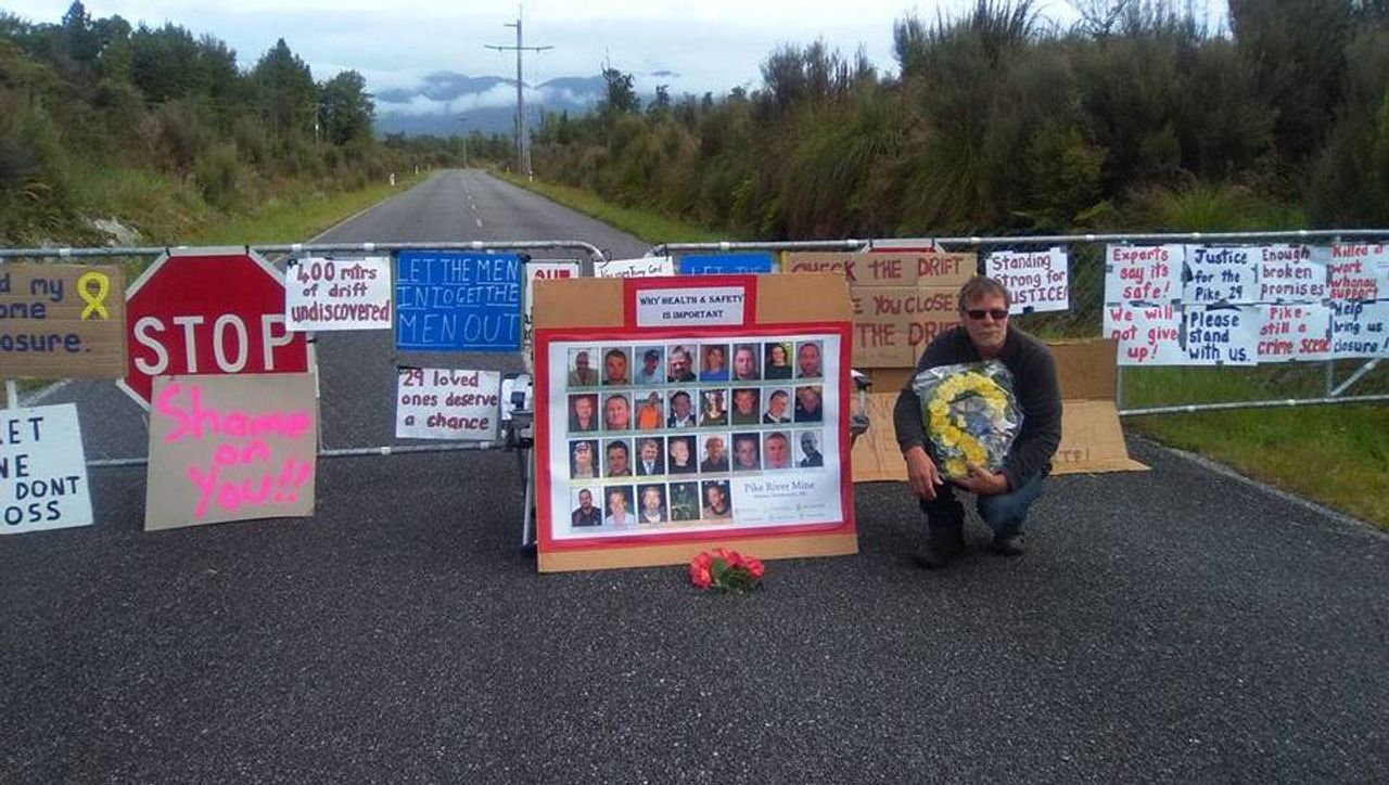 New Zealand: Pike River mine disaster families oppose government plan to end underground investigation