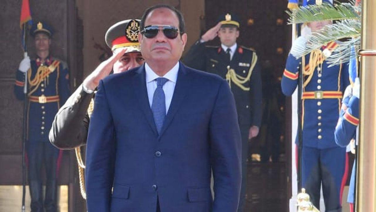 Egyptian dictator Abdel Fattah al-Sisi
