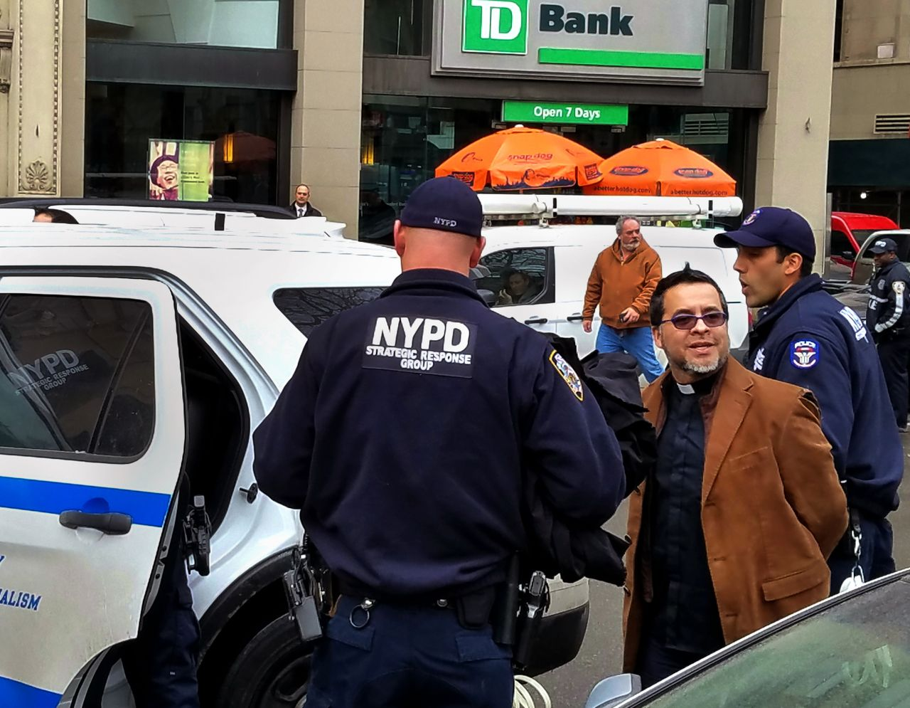 Activist detained and 18 arrested at Manhattan immigrant rights protest
