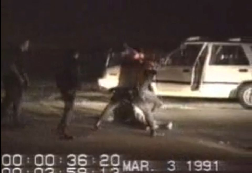 the beating of rodney king The beating of rodney king the beating of rodney king throughout police history in the united states and around the world there have been numerous incidents of.