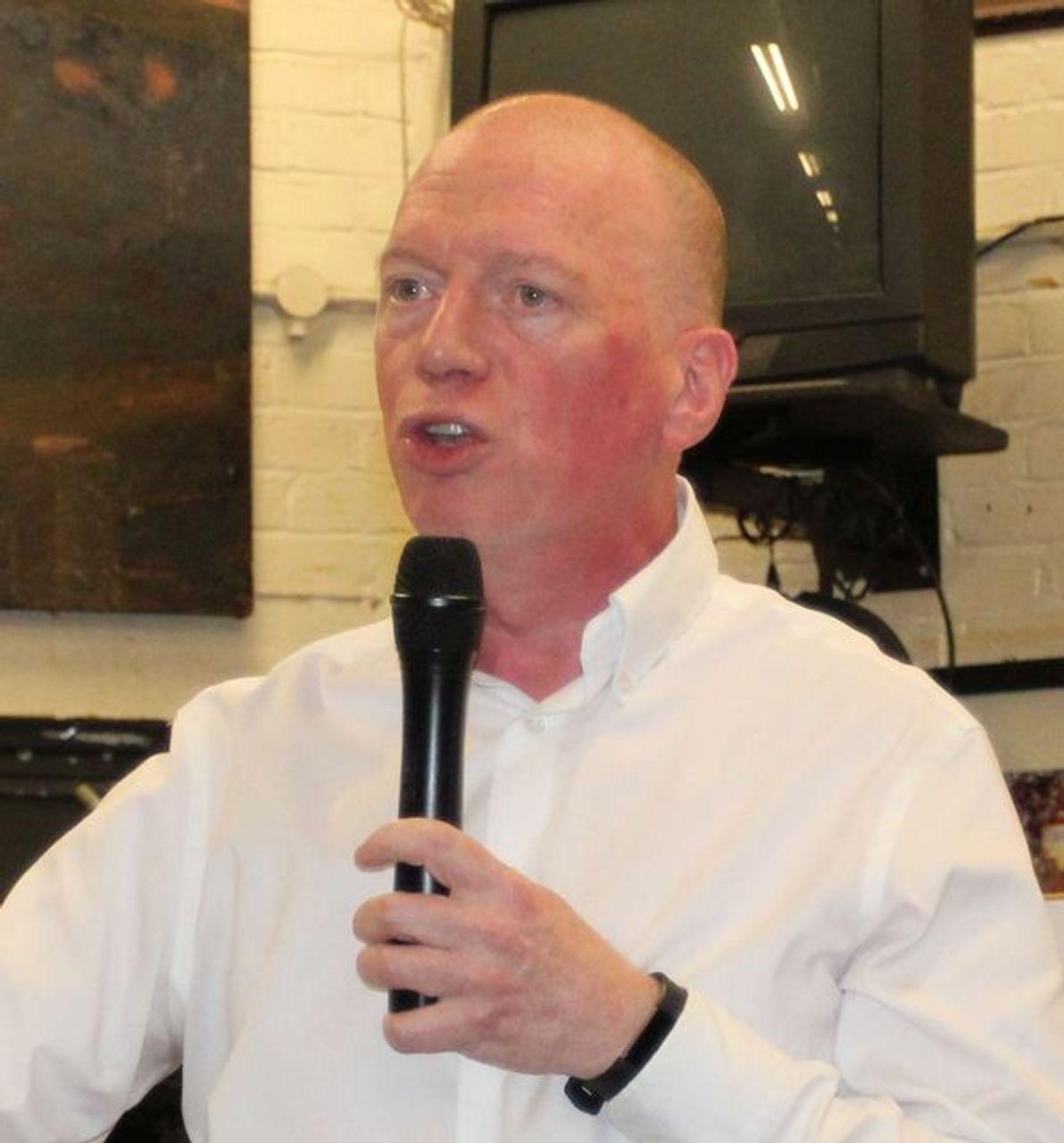 FBU leader Matt Wrack