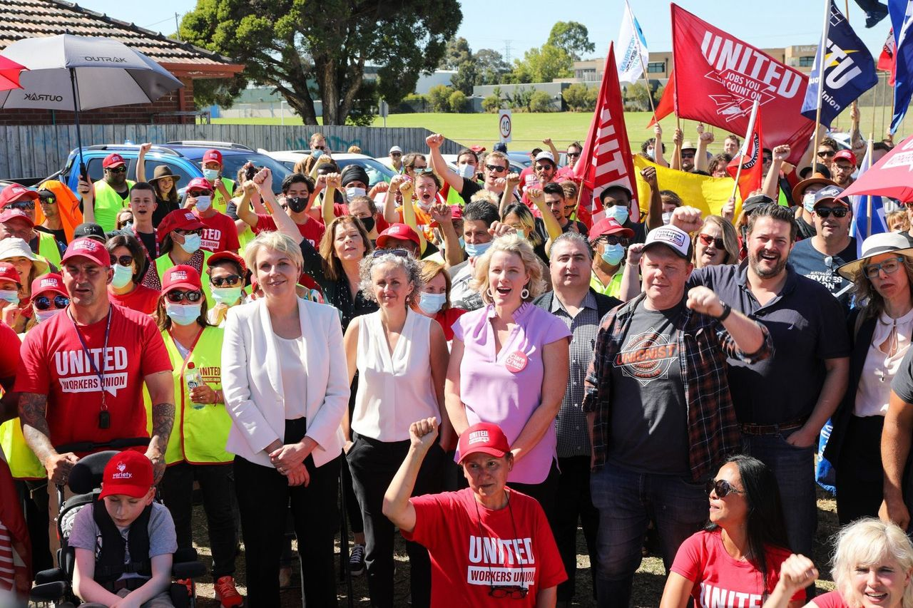 Australia: Union promotes big business Labor politicians at McCormick strike
