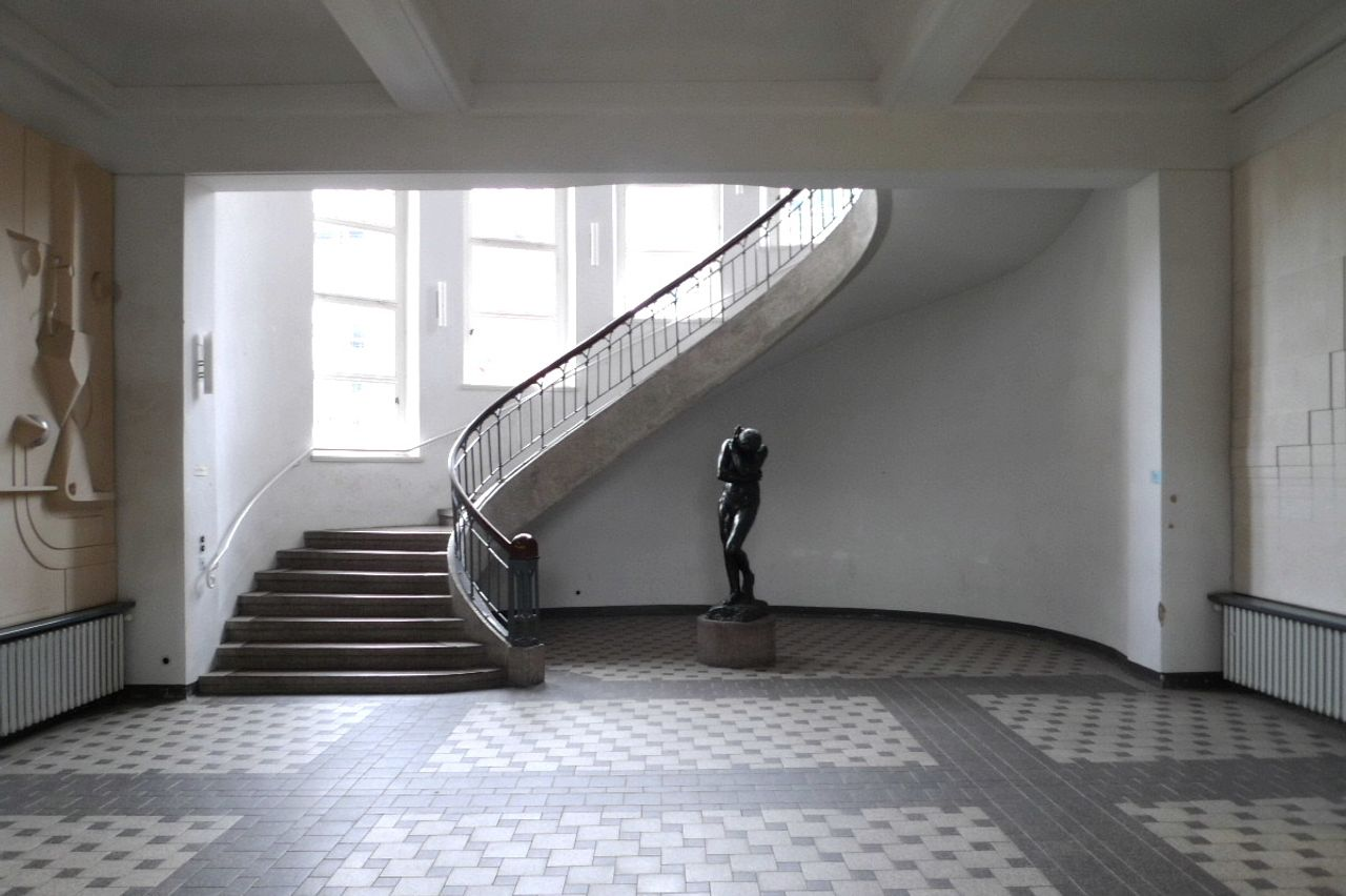 Foyer of the Bauhaus University, Weimar
