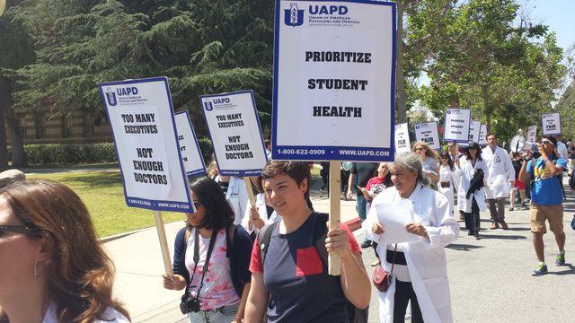 University of California doctors strike - World Socialist Web Site