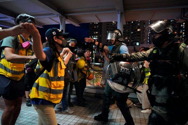 Two-day strike begins in Hong Kong following weekend of