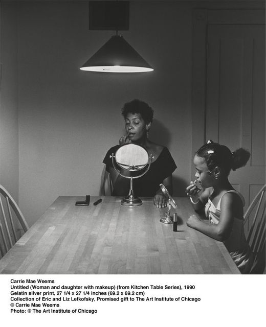 Carrie Mae Weems Kitchen Table Series Carrie mae weems three decades of photography and video at new from then on weemss series of photographs including aint jokin 1987 88 american icons 1988 89 and colored people 1989 90 paired visually workwithnaturefo