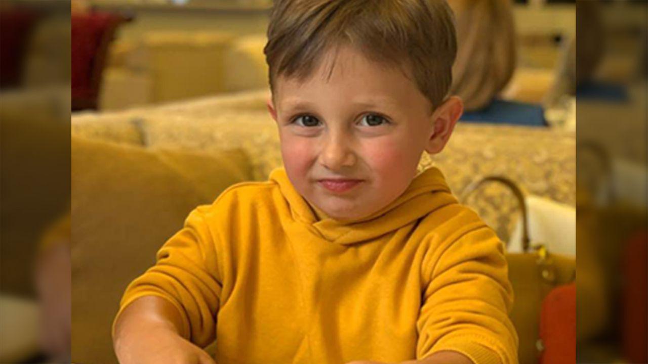 Three-year-old Oleksandr Sobolev, son of politician Vyacheslav Sobolev, shot to death in Kyiv on December 1, 2019 [Source: Facebook, Inna Soboleva]