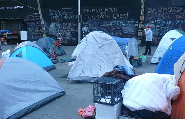 size 40 5d42b 978d9 Homeless protest in Martin Place. The state government responded with  draconian legislation—the Sydney ...