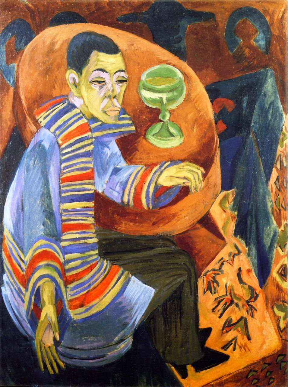 Ernst Luwig Kirchner, The Drinker, 1915