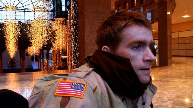 Tomas Young visits Ground Zero