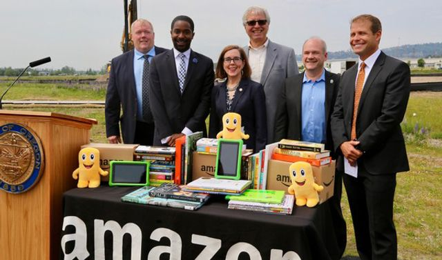 New Amazon facility in Oregon: Tax cuts for corporation, poverty