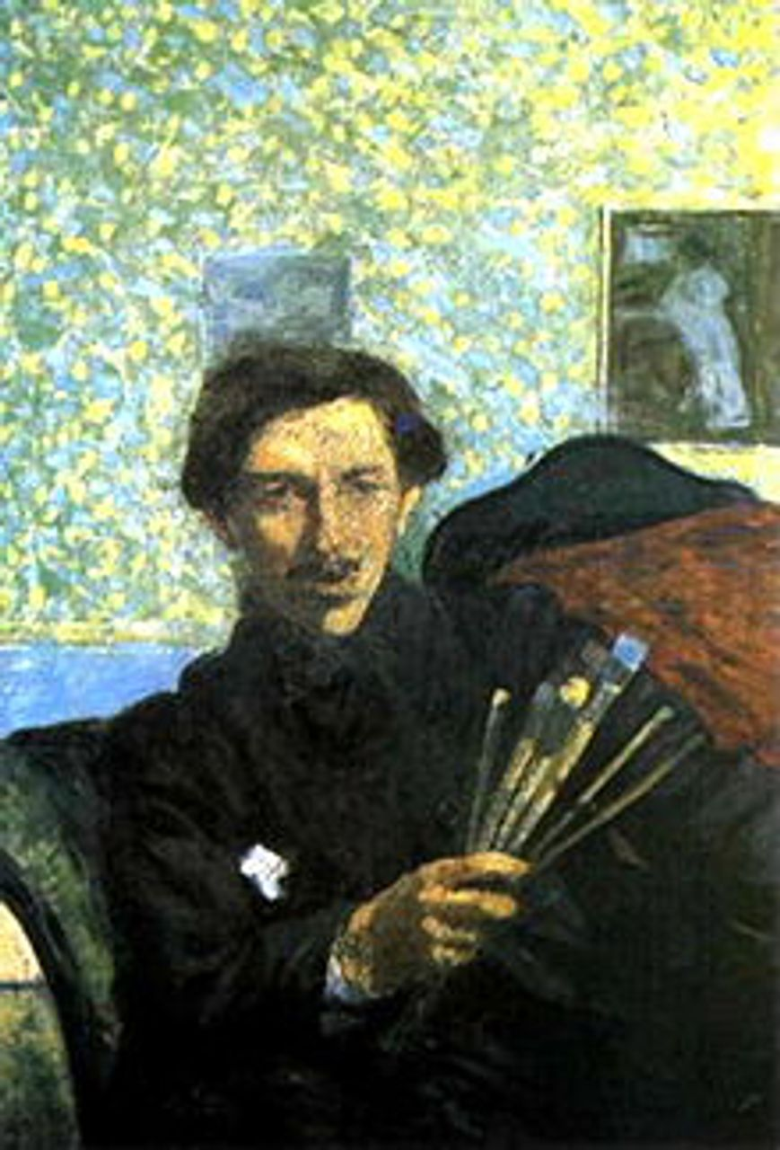 Umberto Boccioni, self portrait