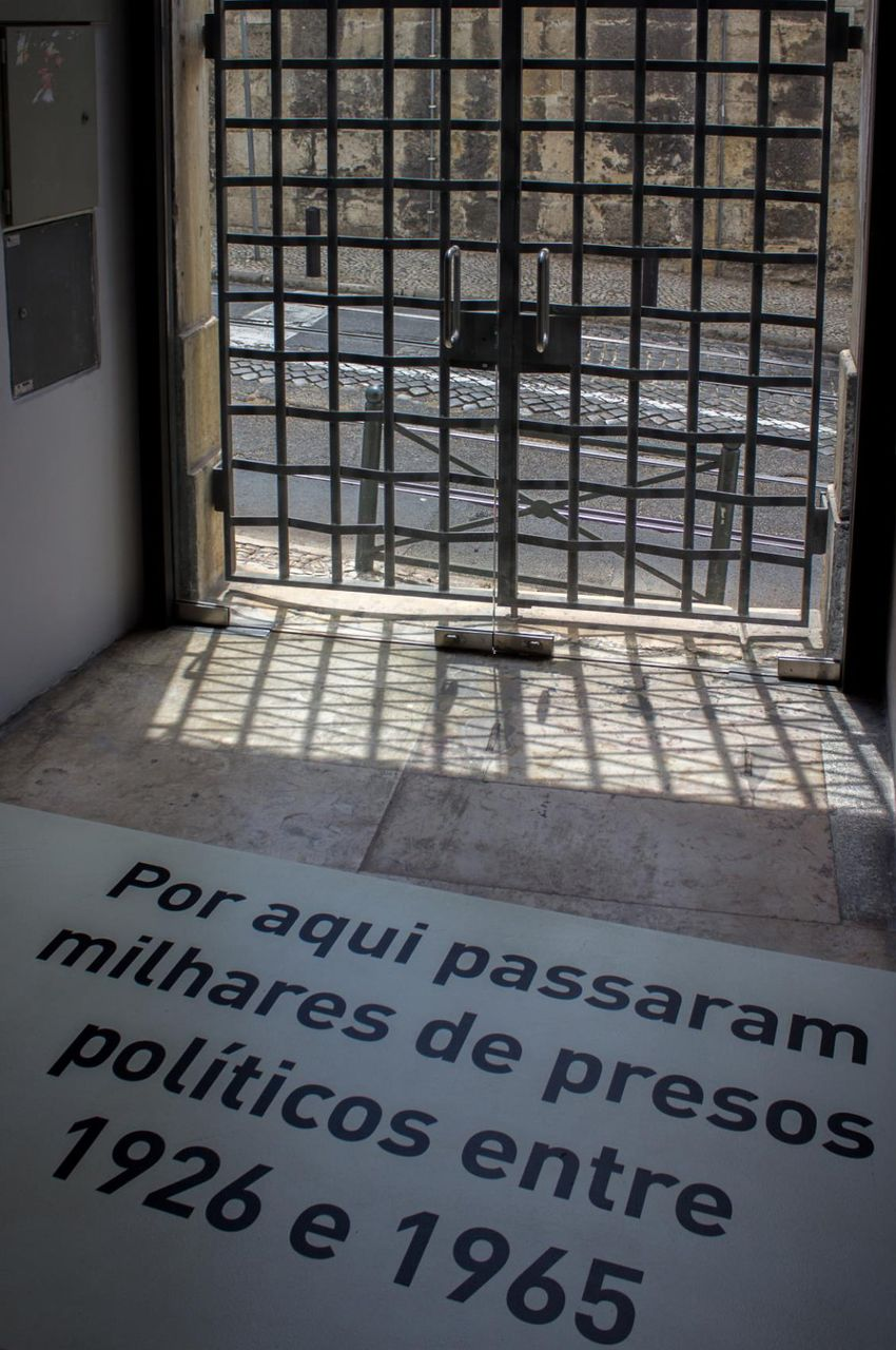 Through here passed thousands of political prisoners between 1926 and 1965