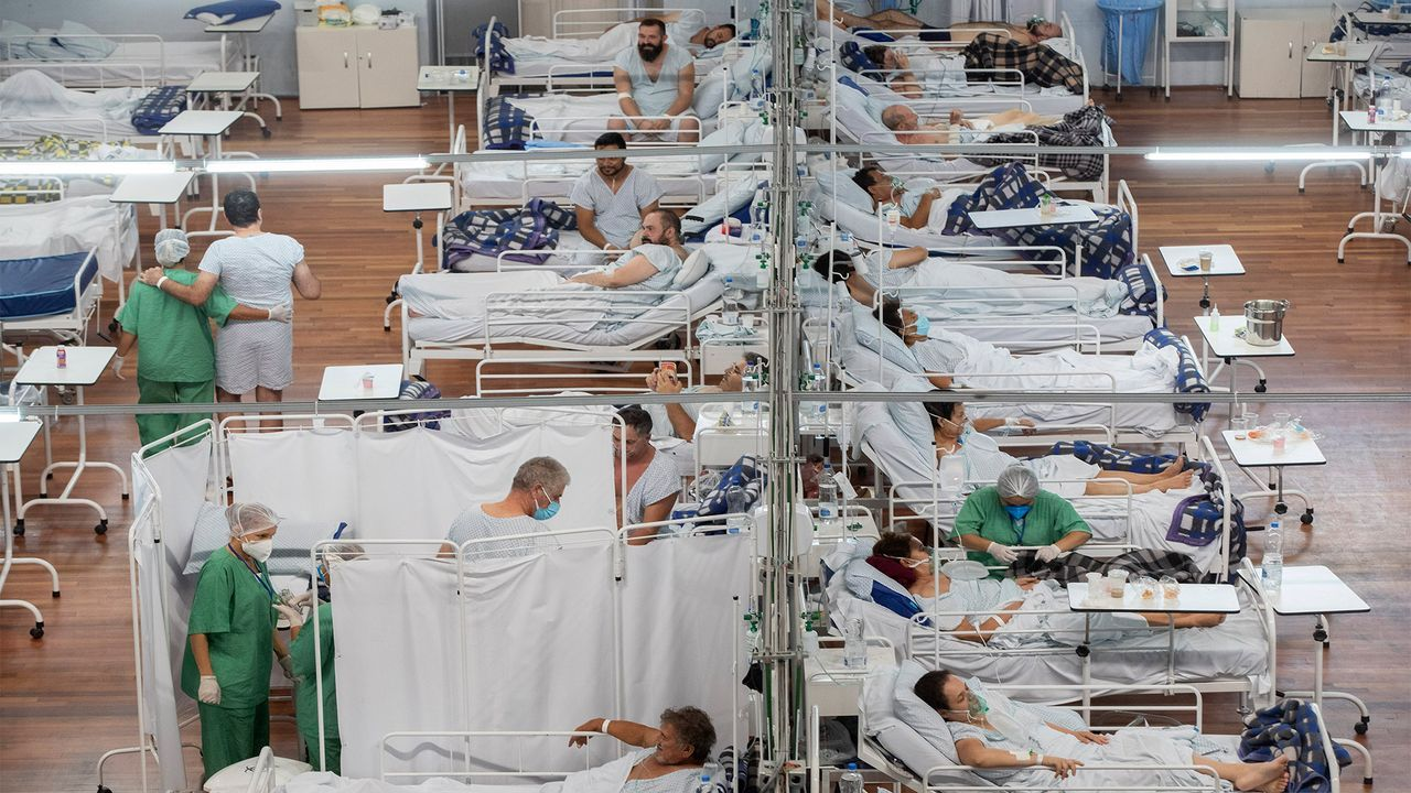 Amid health care collapse, Brazil cannot bury its COVID-19 dead