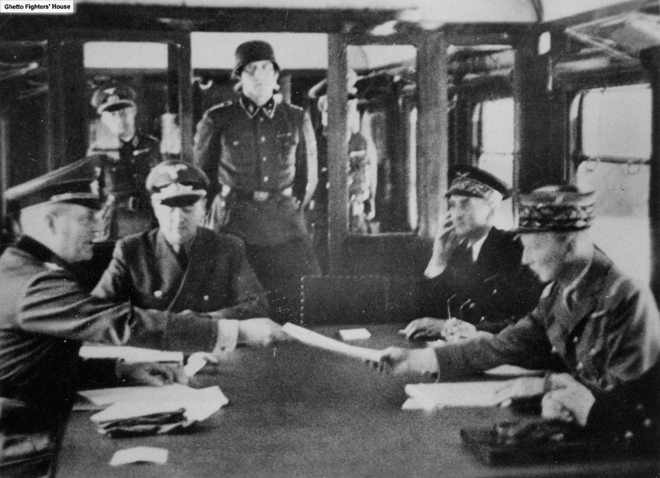 armistice nazi germany and gus