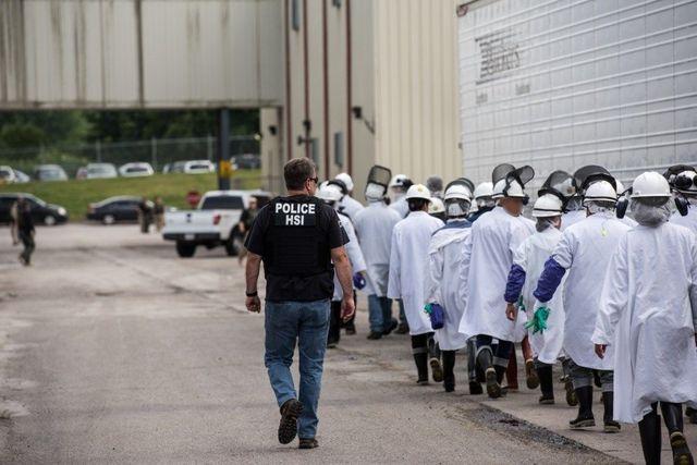 ICE agents raid Ohio meatpacking plants, arrest 146 immigrants