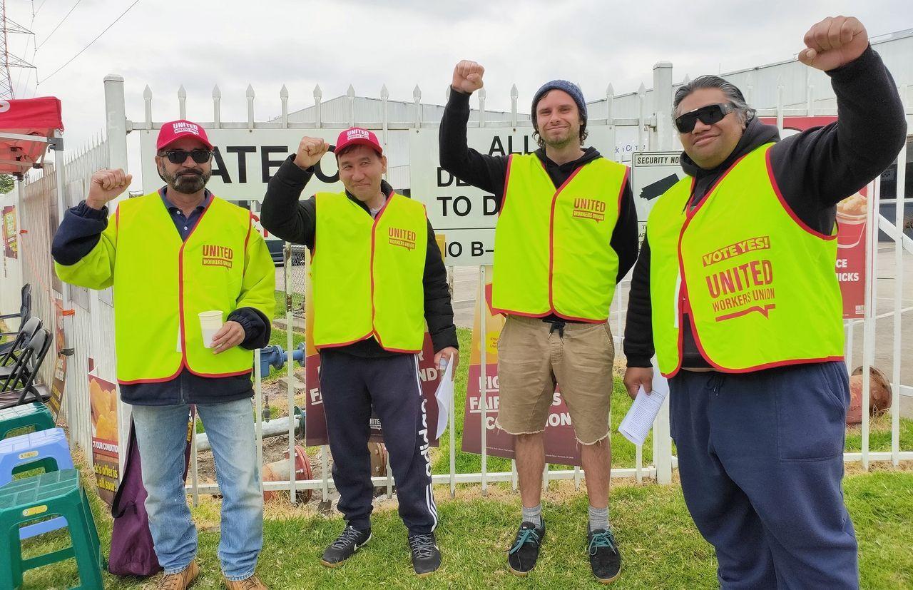 United Workers Union isolating McCormick Foods Australia strike