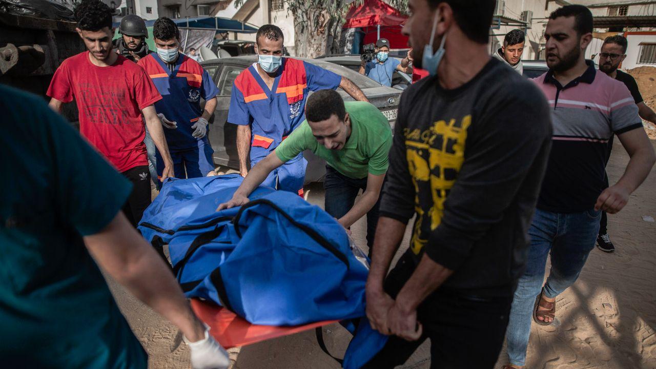 """Israel unterdrückt Generalstreik und setzt Angriffe auf Gaza """"mit voller Wucht"""" fort"""