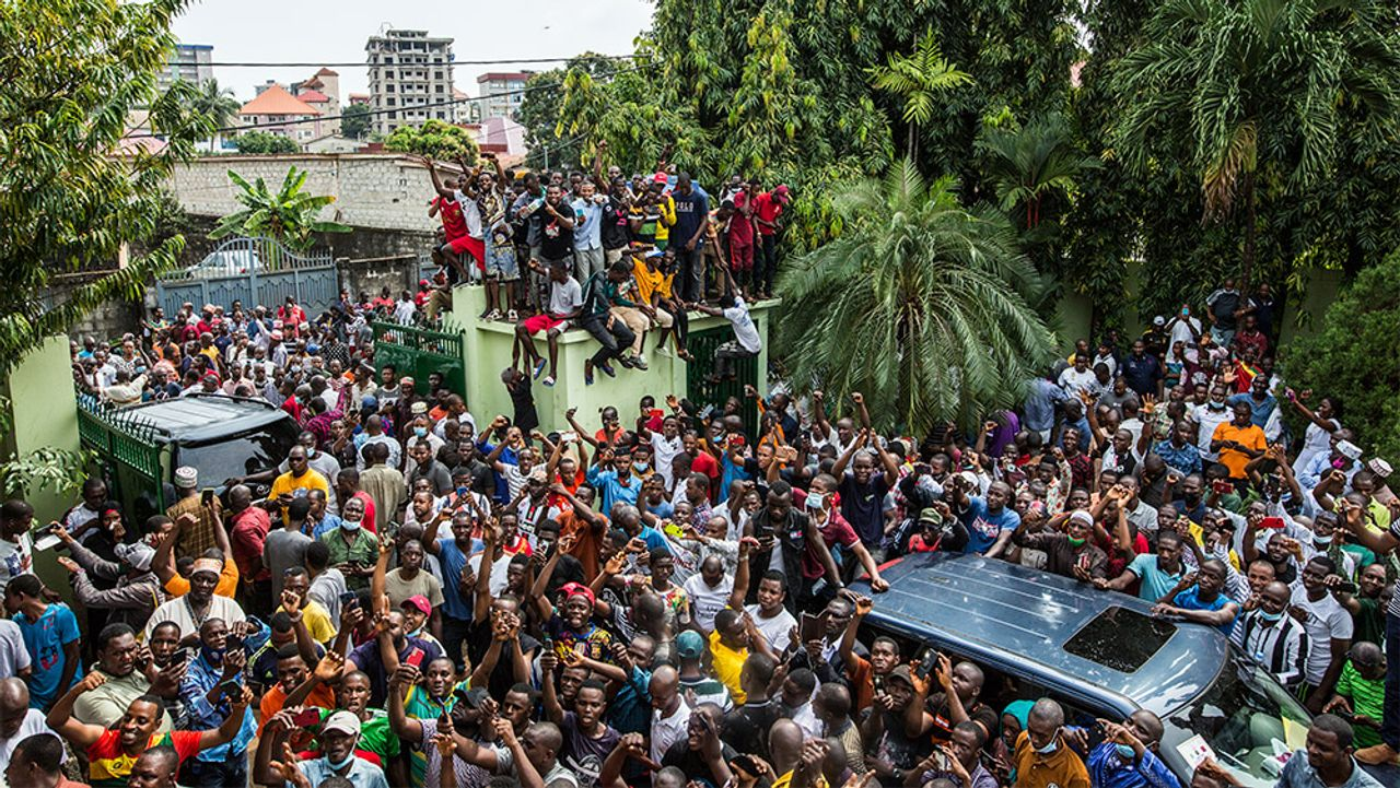 Clashes erupt in Guinea-Conakry as Condé declared president for third term