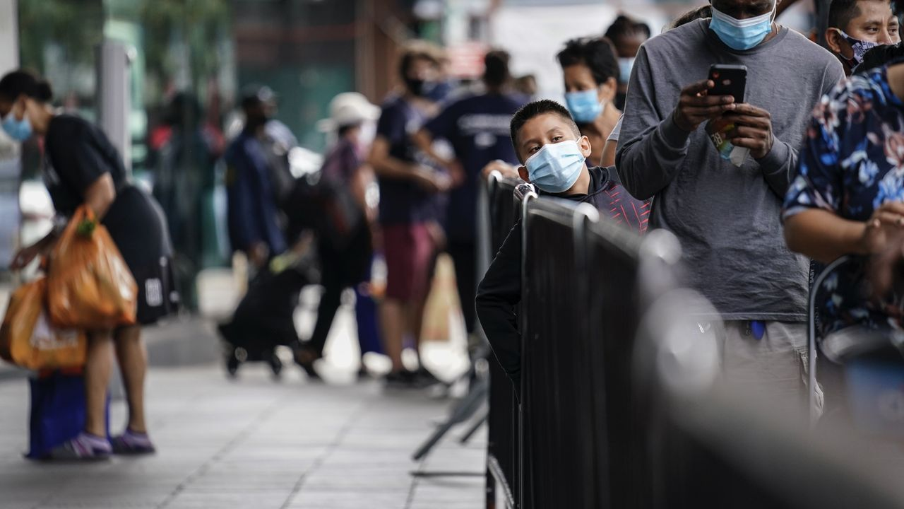 US jobless claims top 684,000, just below pre-pandemic record high, as millions remain out of work and at risk of eviction