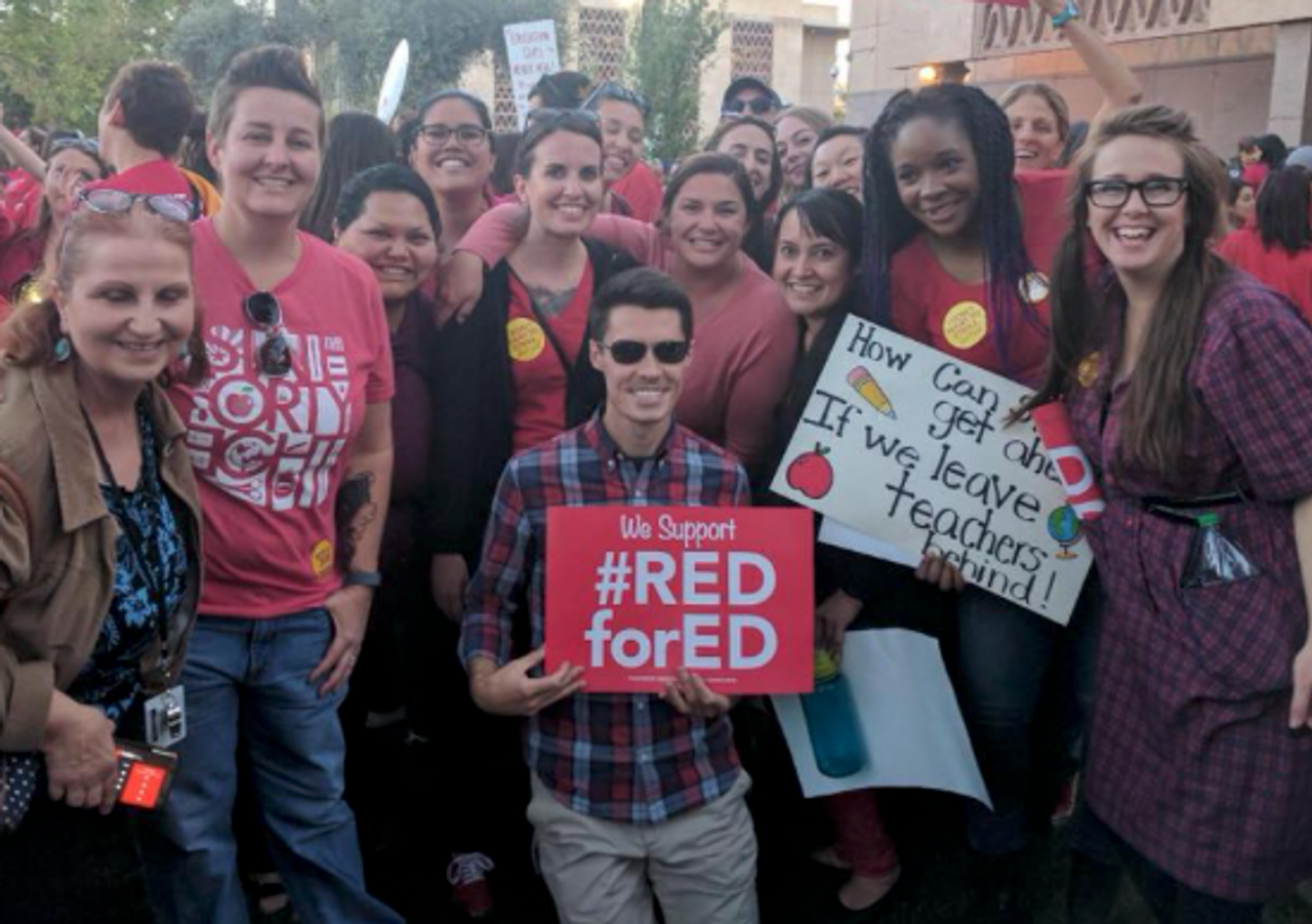 Arizona teachers begin voting on whether to strike