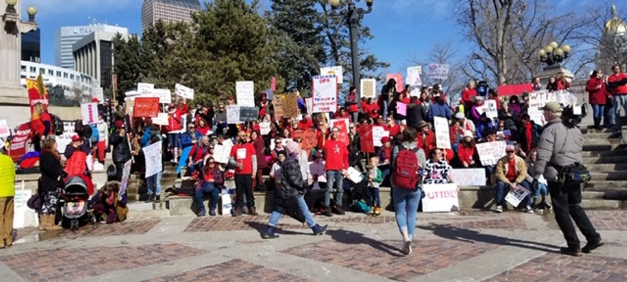 Denver, USA teachers fighting to defend public education