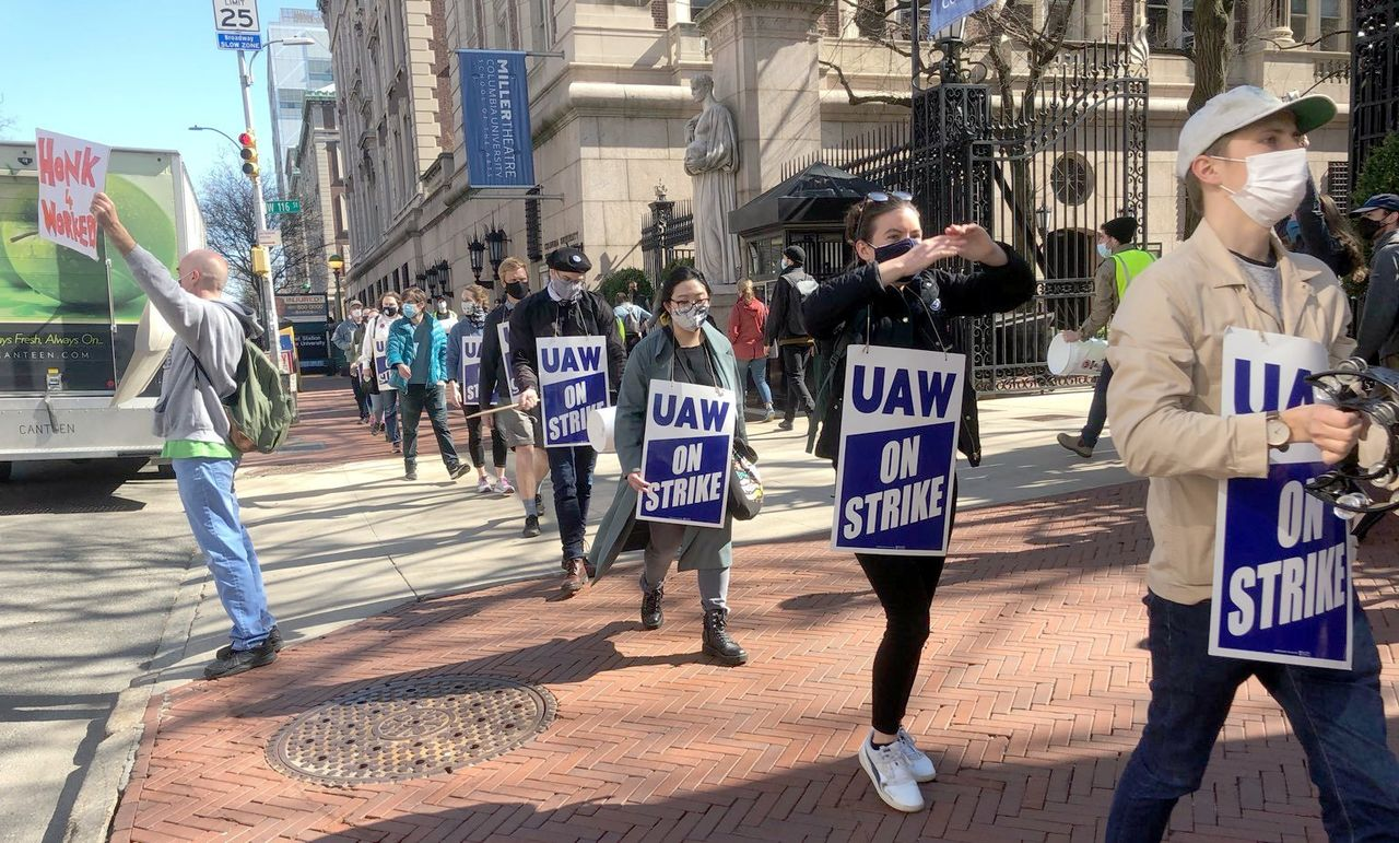 Columbia University to striking graduate workers: Starve or take our deal