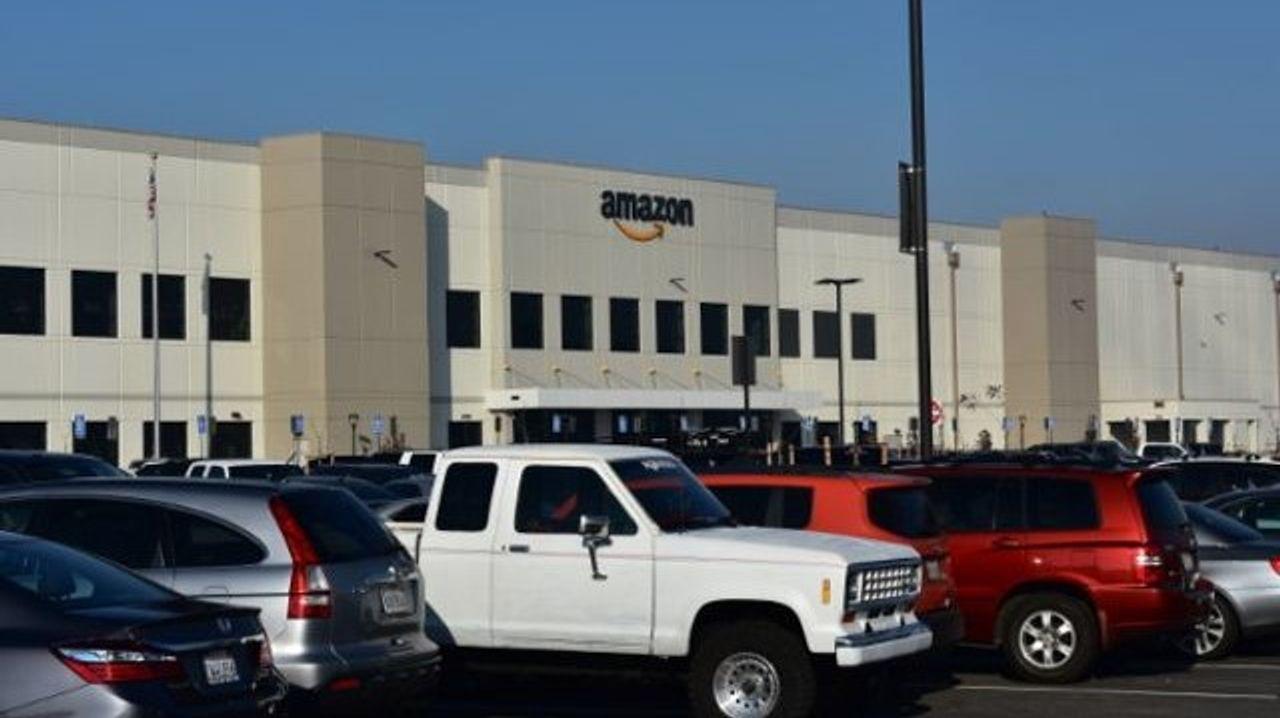 Amazon's new facility in Sacramento, California