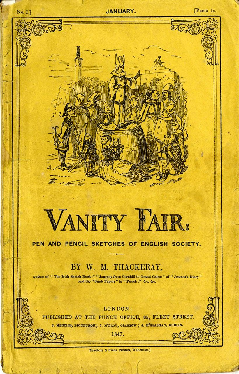 Vanity Fair, book cover