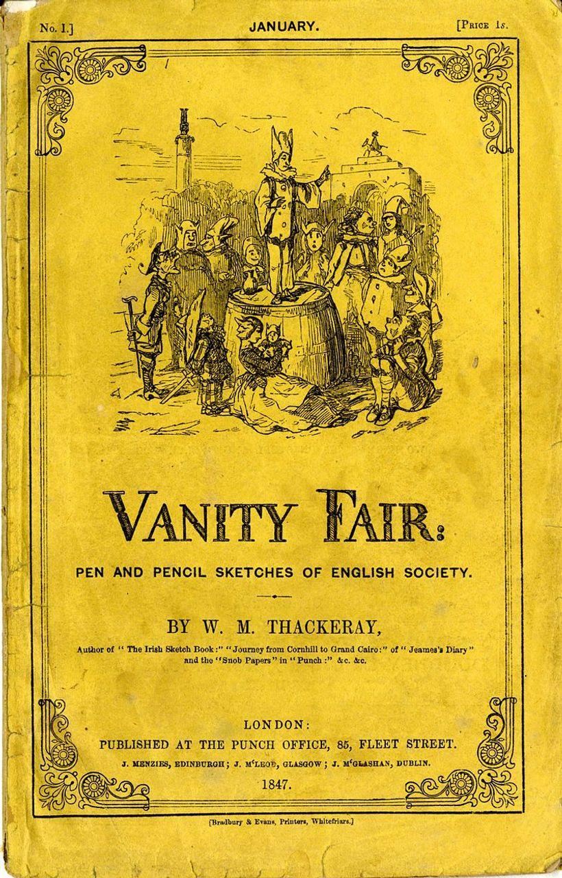 Vanity Fair, book cover