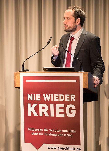 Christoph Vandreier, German Trotskyist and prominent opponent of