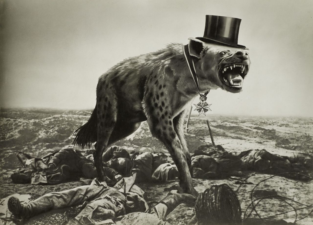 John Heartfield, War and Corpses, the Last Hope of the Rich