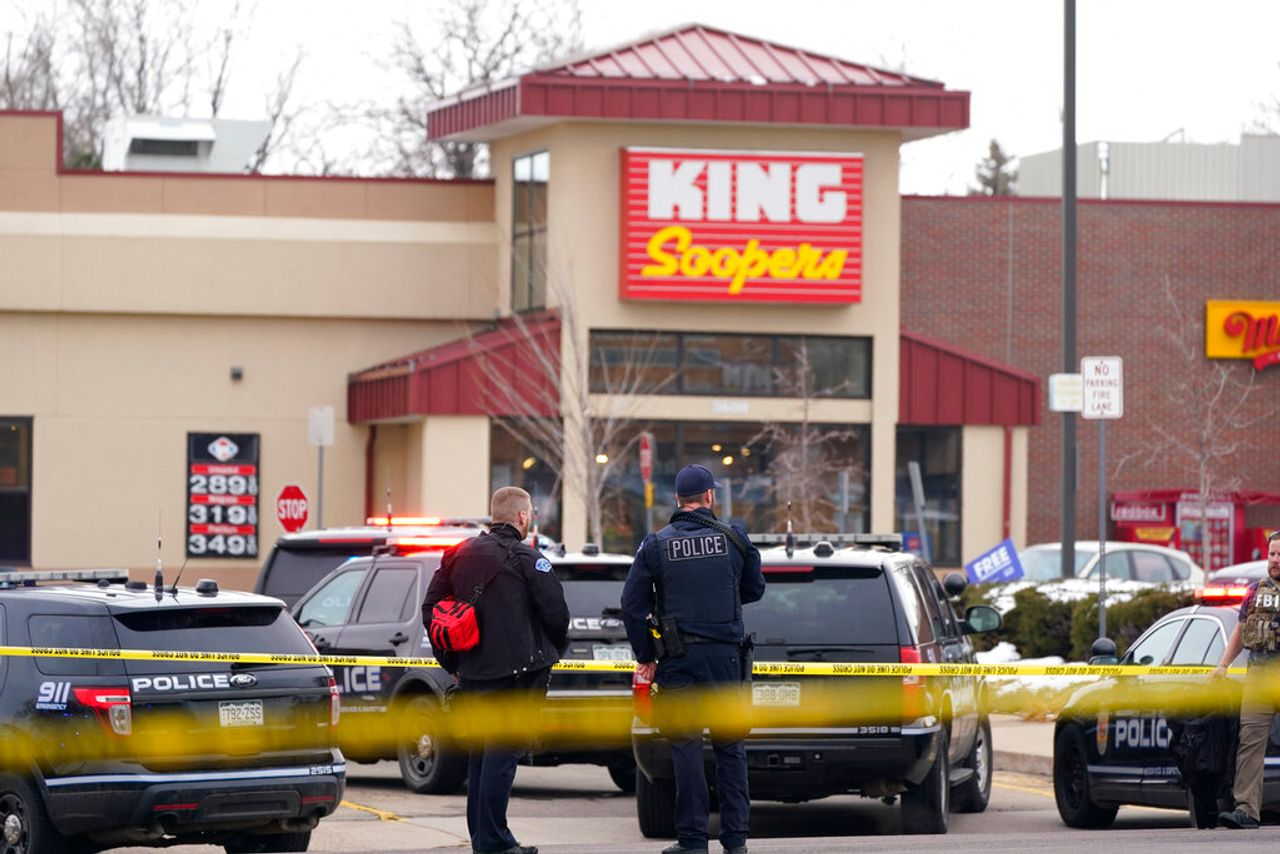 Ten killed in mass shooting at Boulder, Colorado grocery store
