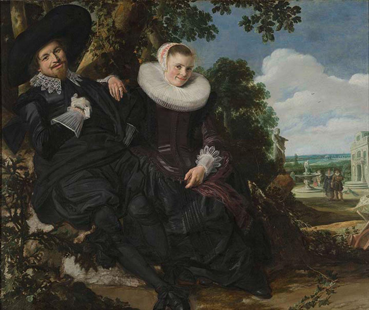 Frans Hals (Dutch, 1582/83–1666), Marriage Portrait of Isaac Massa and Beatrix van der Laen, ca. 1622, oil on canvas. 140 x 166.5 cm. Rijksmuseum, Amsterdam, inv. SK-A-133. ©Rijksmuseum, Amsterdam